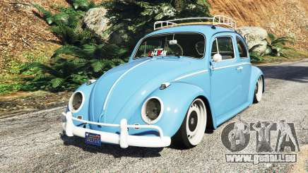 Volkswagen Fusca 1968 v0.9 [replace] pour GTA 5