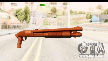 Tactical Mossberg 590A1 Black v1 für GTA San Andreas