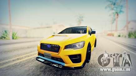 Subaru WRX STI S207 NBR CHALLENGE YELLOW EDITION für GTA San Andreas