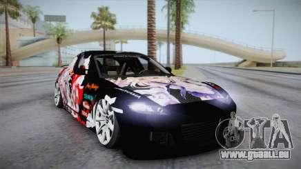 Mazda RX-8 VIP Stance Shimakaze Itasha für GTA San Andreas