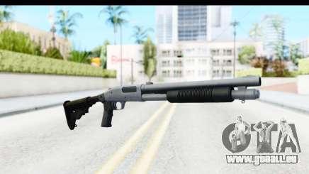 Tactical Mossberg 590A1 Chrome v4 für GTA San Andreas
