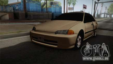 Honda Civic Sedan EX 1993 pour GTA San Andreas