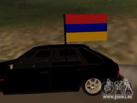 VAZ 2109 Armenian pour GTA San Andreas vue de droite