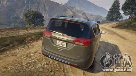 GTA 5 Chrysler Pacifica Limited 2017 hinten links Seitenansicht