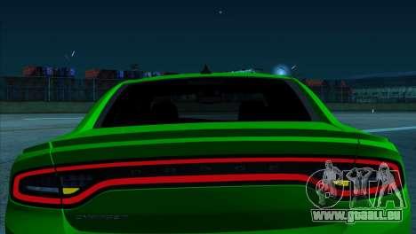 2016 Dodge Charger RT Forza Horizon 2 für GTA San Andreas zurück linke Ansicht