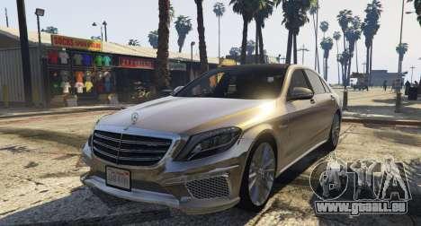 Mercedes-Benz S65 W222 pour GTA 5