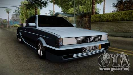 Volkswagen Saveiro 1994 pour GTA San Andreas vue de droite
