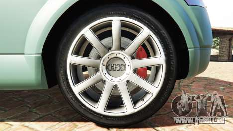 GTA 5 Audi TT (8N) 2004 v1.1 [add-on] hinten rechts