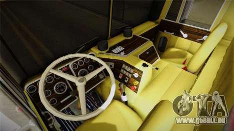 Peterbilt Monster Truck für GTA San Andreas Rückansicht