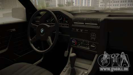BMW M3 E30 Edit v1.0 für GTA San Andreas Innenansicht