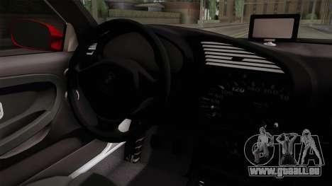 BMW 328i E36 Coupe für GTA San Andreas Innenansicht