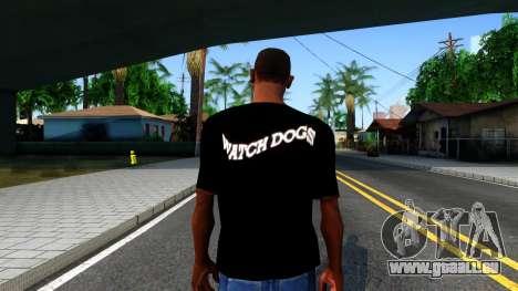 T-Shirt Watch Dogs 2 für GTA San Andreas dritten Screenshot
