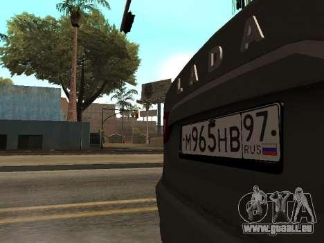 LADA Vesta BPAN für GTA San Andreas Seitenansicht
