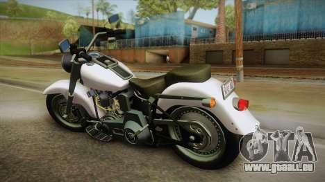 Harley-Davidson FLSTF 1990 v1.1 für GTA San Andreas linke Ansicht
