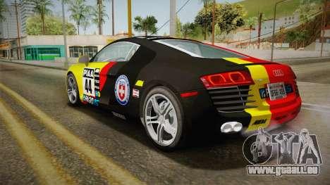 Audi R8 Coupe 4.2 FSI quattro US-Spec v1.0.0 v4 für GTA San Andreas Innen