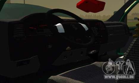 Gazelle Farmer v2 pour GTA San Andreas vue intérieure