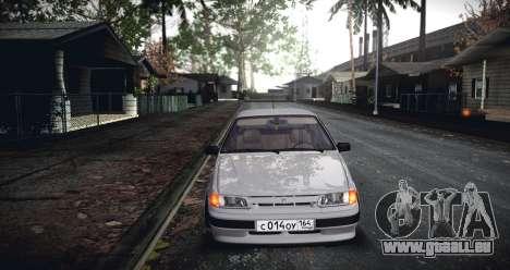 ВАЗ 2114 SamaraStance für GTA San Andreas zurück linke Ansicht