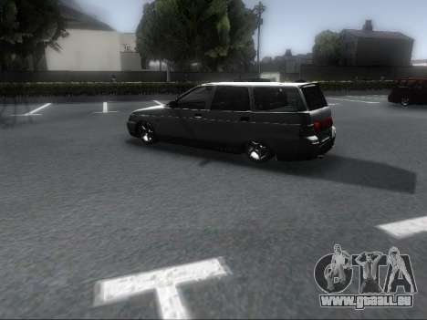 VAZ 2111 Audio pour GTA San Andreas sur la vue arrière gauche