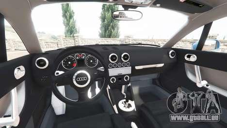 GTA 5 Audi TT (8N) 2004 v1.1 [add-on] rechte Seitenansicht