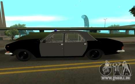 GAZ 24-10 Shérif pour GTA San Andreas laissé vue