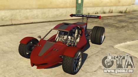 Raptor Car v2 für GTA 5