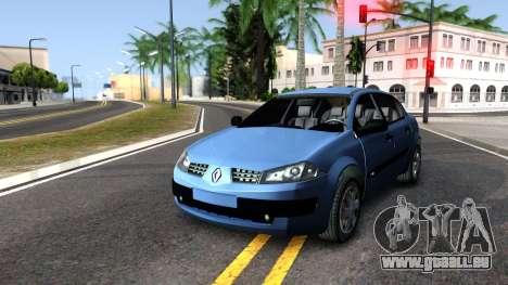 Renault Megane Sedan für GTA San Andreas rechten Ansicht