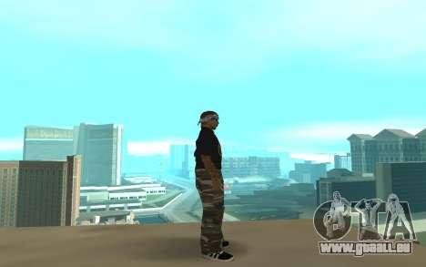Los Santos Vagos pour GTA San Andreas deuxième écran