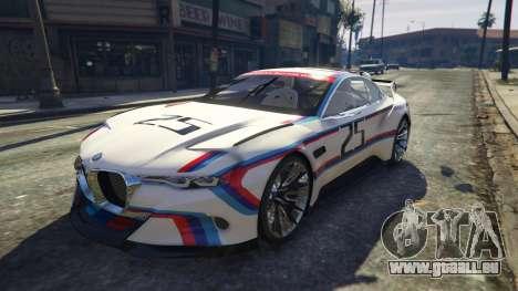 BMW 3.0 CSL Hommage R Concept für GTA 5