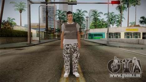 Skin Random Male 5 GTA Online pour GTA San Andreas deuxième écran