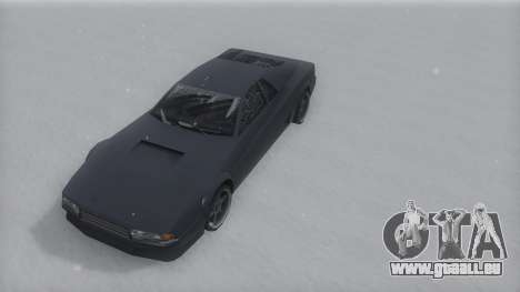 Cheetah Winter IVF pour GTA San Andreas