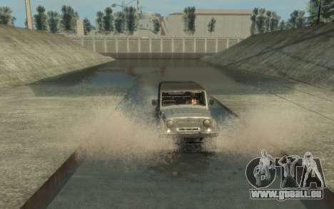 УАЗ 469 (Paul Black prod.) pour GTA 4 vue de dessus