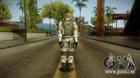 Resident Evil ORC Spec Ops v7 für GTA San Andreas dritten Screenshot
