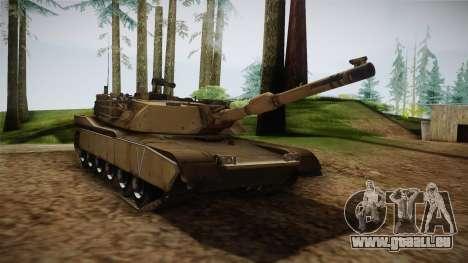 Abrams Tank pour GTA San Andreas vue de droite