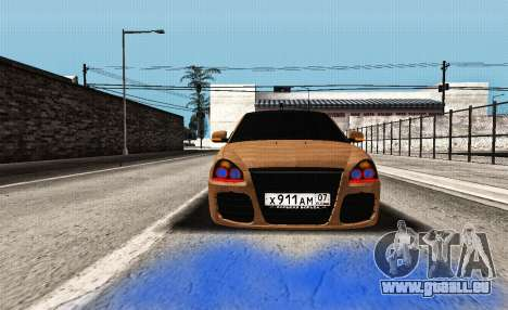 Lada Priora Tuning für GTA San Andreas Rückansicht
