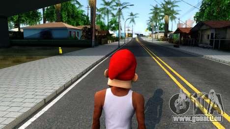 Gnome Mask From The Sims 3 für GTA San Andreas dritten Screenshot