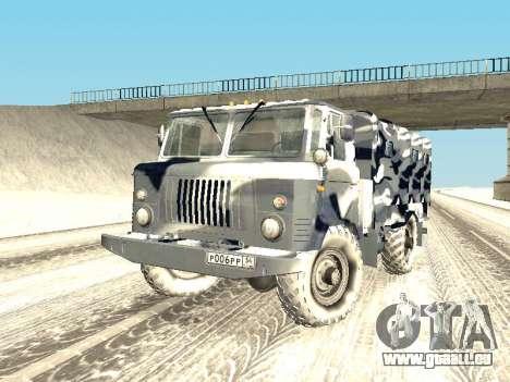GAZ-66 für GTA San Andreas