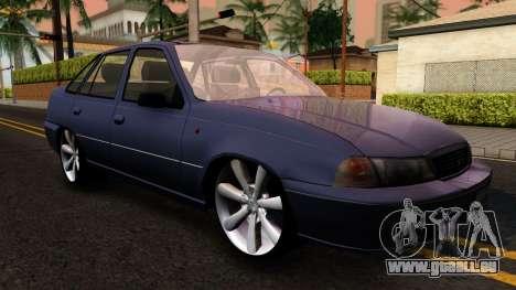 Daewoo Cielo 2001 pour GTA San Andreas laissé vue