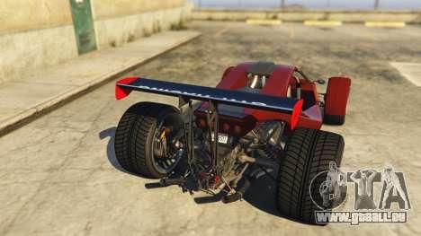 GTA 5 Raptor Car v2 hinten links Seitenansicht
