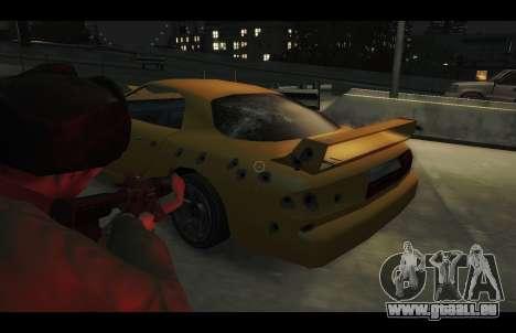 ZR 350 GTA San Andreas v1.0 für GTA 4 Rückansicht