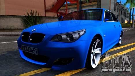 BMW E60 520D M Technique für GTA San Andreas