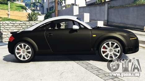 Audi TT (8N) 2004 v1.1 [replace] pour GTA 5