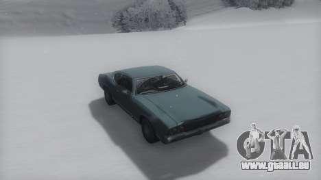 Sabre Winter IVF pour GTA San Andreas