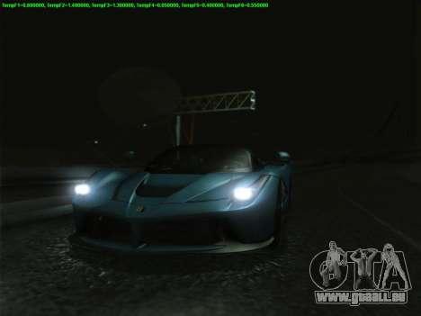 LaFerrari 2017 für GTA San Andreas obere Ansicht