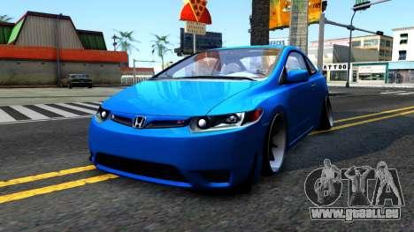 Honda Civic Si für GTA San Andreas