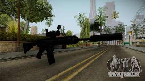 HK416 v4 für GTA San Andreas zweiten Screenshot