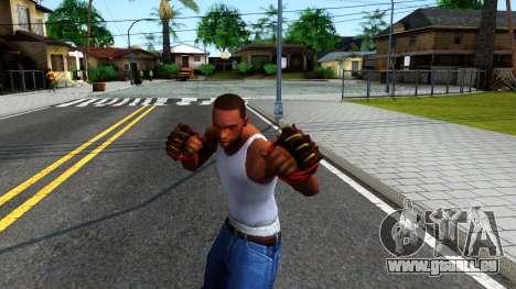 Red Bear Claws Team Fortress 2 für GTA San Andreas dritten Screenshot