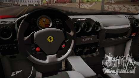 Ferrari F430 für GTA San Andreas Innenansicht