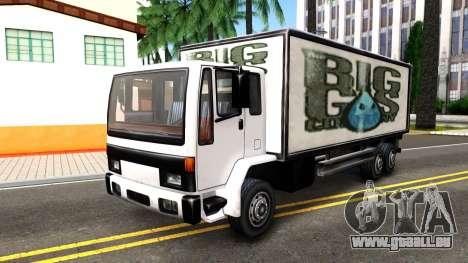 DFT-30 Box Truck pour GTA San Andreas