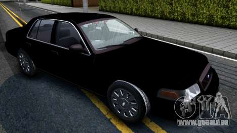 Ford Crown Victoria OHSP Unmarked 2010 für GTA San Andreas rechten Ansicht