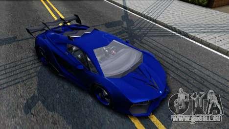 GTA V Pegassi Lampo pour GTA San Andreas laissé vue